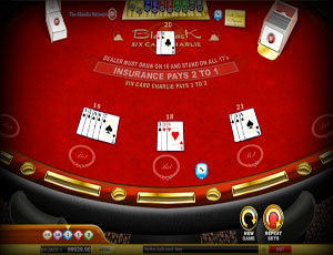 6 Card Charlie | Card Games | Casino Games Software